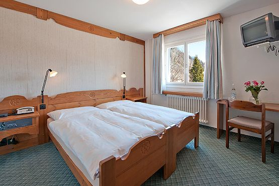 Standard double room Baselgia – Hotel Chesa Grischa in Sils-Baselgia