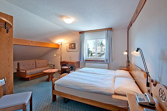 Superior double room Margna - Hotel Chesa Grischa in Sils-Baselgia