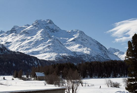 View Silsersee - Hotel Chesa Grischa in Sils-Baselgia