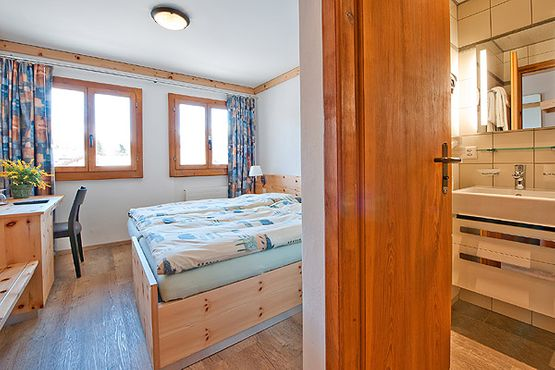 Standard room Fex – Hotel Chesa Grischa in Sils-Baselgia