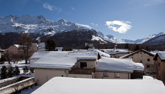 View Corvatsch – Hotel Chesa Grischa in Sils-Baselgia