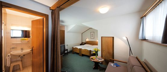 Superior room En – Hotel Chesa Grischa in Sils-Baselgia