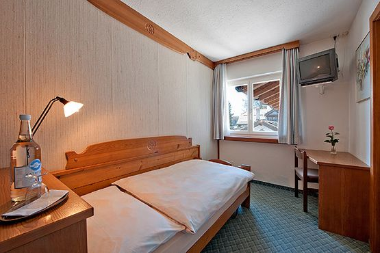Single room Chasté – Hotel Chesa Grischa in Sils-Baselgia